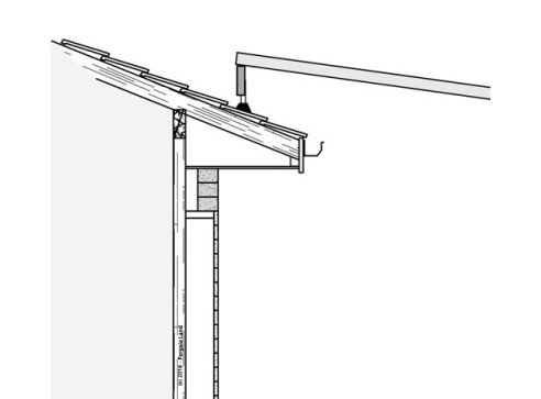 roof brackets for attaching pergola to sloped roof