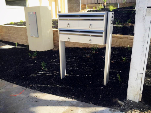 Anodised finish letterboxes from SecuraMail
