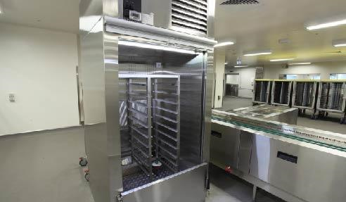 Stainless Steel Hospital Kitchen