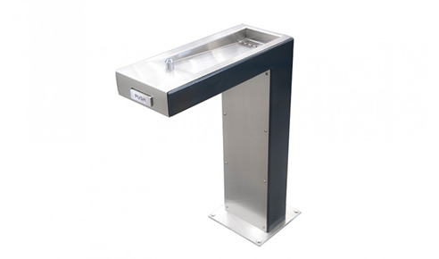 wheelchair-accessible drinking fountain