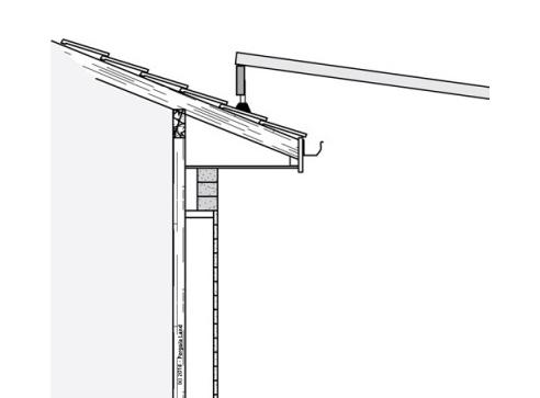 roof brackets for attaching pergola to sloped roof - Sloping Flyover Pergola Pergola Land