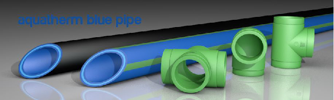 Blue Pipe for Glycol Applications at Breweries from Aquatherm
