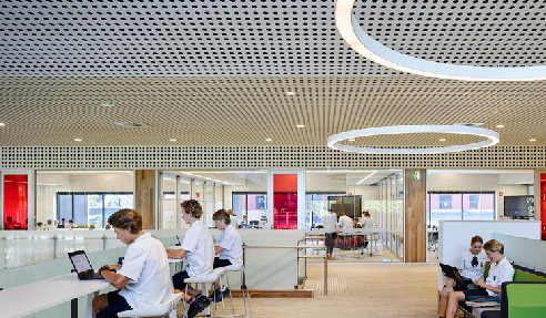 Key-Endura Perforated Panels - St Andrews Anglican College