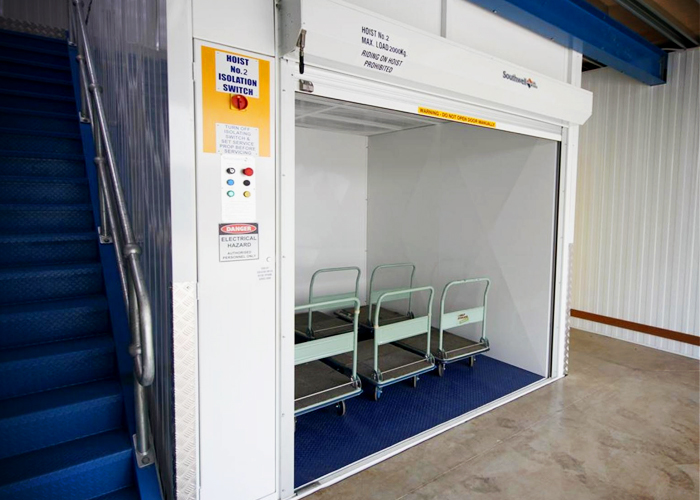 Freestanding Goods Hoists Sydney from Southwell Lifts & Hoists