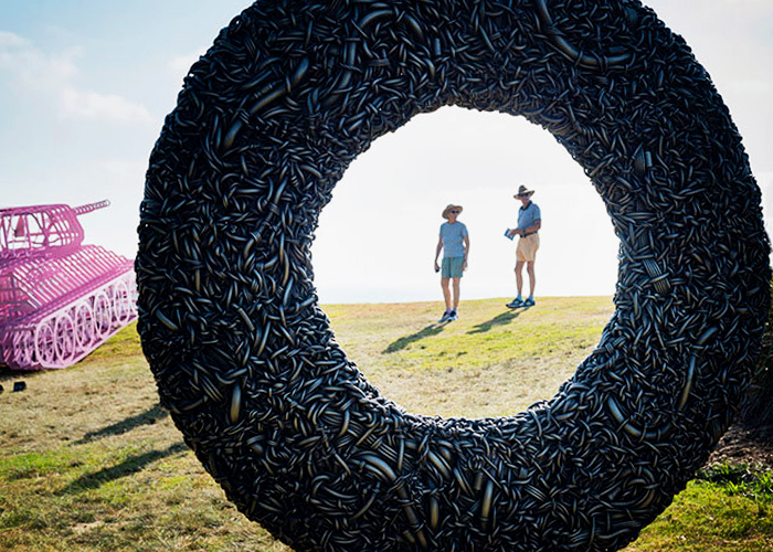 Sculpture by the Sea 2019 and Axolotl