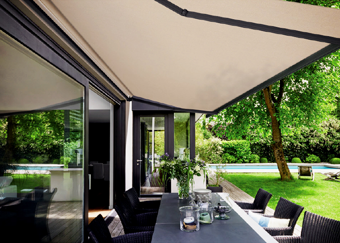 Seamless Broad Span Awnings by Dickson from Nolan Group