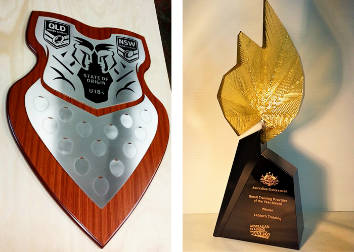 Sport Participation and Awards from Architectural Signs