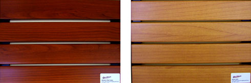 Decowood Timber Finish Available For Slats Amp Screens