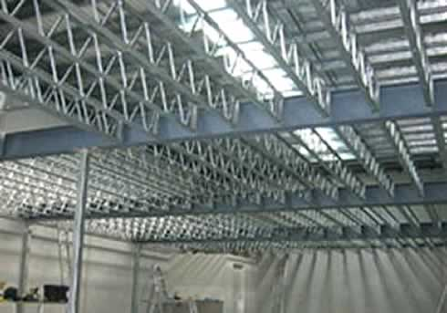 Hopleys Open Web Steel Joists 174 Are A Range Of Lightweight