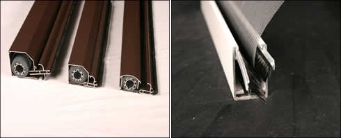 Diy retractable insect screens by artilux australia ideal for Pull down fly screen for doors