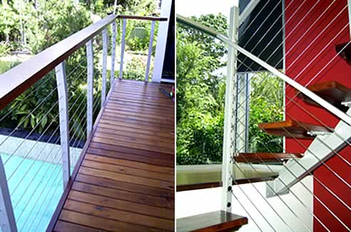 Stainless Steel Wire Balustrades From Miami Stainless