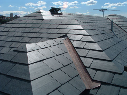 Glendyne slate roofing from Premier Slate. Premier Slate Products Pty.