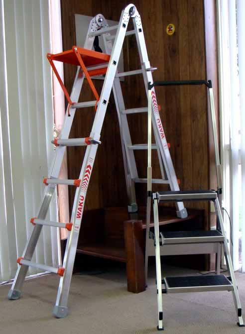 Waku Telescopic Ladders From Little Jumbo Ladders