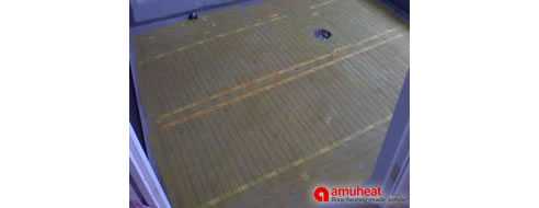 Tile Floor Heating Systems From Amuheat - Heating element for tile floor