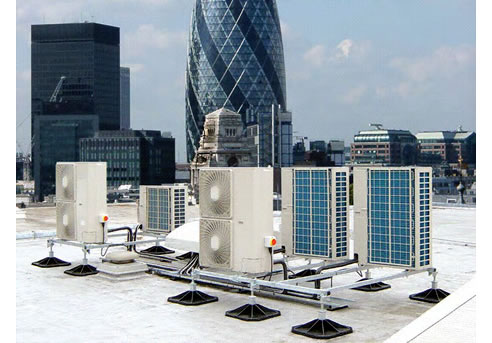 Flat Roof Access Equipment Sa From Hvac Roof Supports