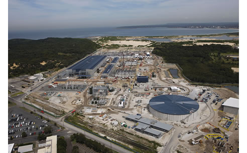 desalination plant at kurnell