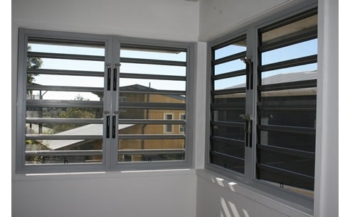 Jalousie Louvred Window Frames From Safetyline Jalousie
