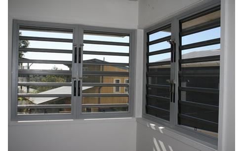 Jalousie Louvred Window Frames From Safetyline Jalousie
