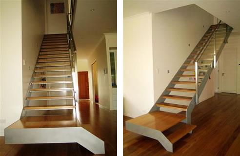 Modern Residential Stairs Brisbane Arden Architectural