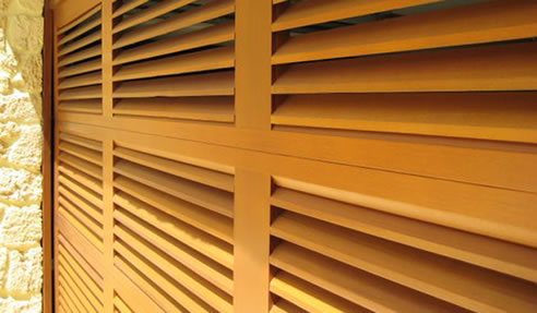 Louvred Timber Garage Doors Deville Garage Doors Taren