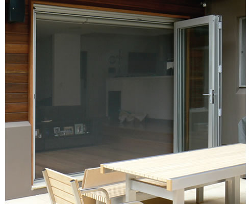 Retractable fly screens elite home improvements baulkham for Flyscreens for french doors