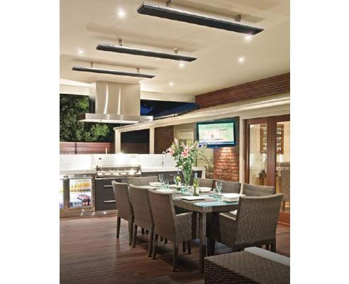 Radiant Outdoor Heating With Heatstrip Outdoor Heating