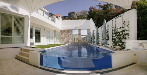 Glass pool fence protective coating with enduroshield - Invisible edge pool ...