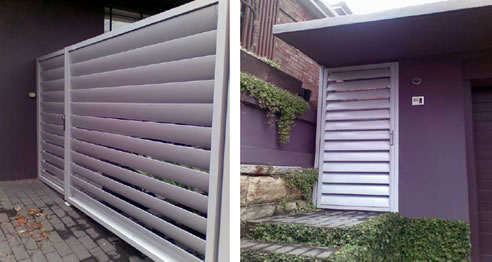 Privacy Screens Fences Doors And Panels Rollashield