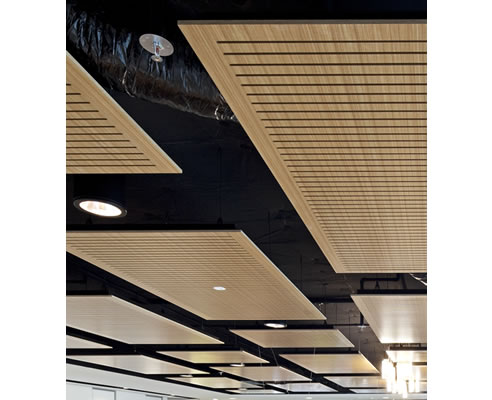 Acoustic Floating Ceiling Panels Fsc Certified Supawood