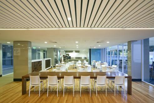 Wood Slat Ceiling Acoustic Supaslat Driftwood Slatted Panels Supawood