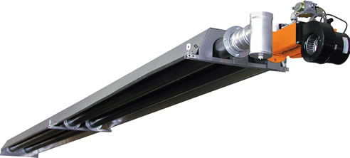 Energy Efficient Overhead Gas Tube Heaters Devex Systems