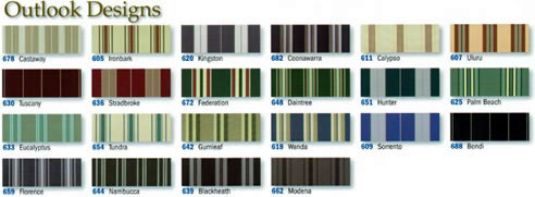 exterior blind design samples