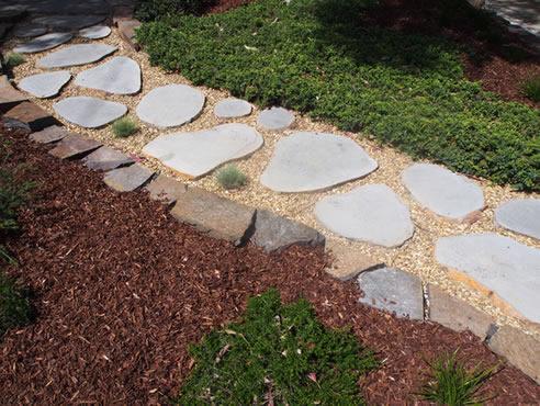 garden stepping stones edward slate stone. Black Bedroom Furniture Sets. Home Design Ideas