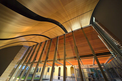 Curved Acoustic Ceiling Supawood Architectural Lining