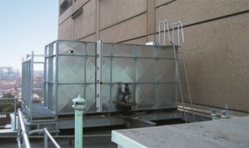 Steel Rectangular Panel Tanks Hunt Engineering