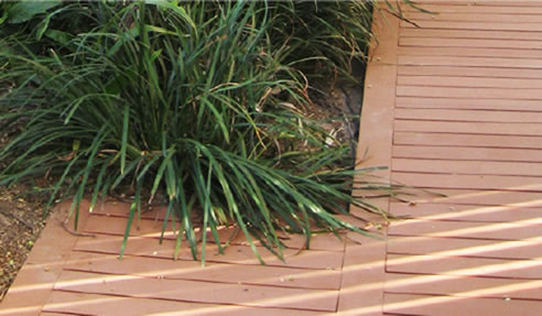 Building green sustainable composite decking for Sustainable decking