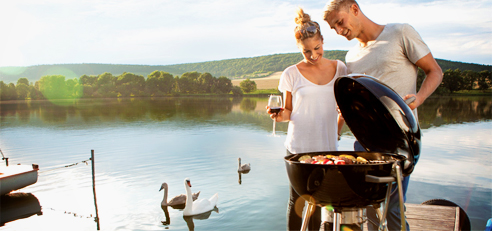 Charcoal Kettle Napoleon barbecue from Jetmaster