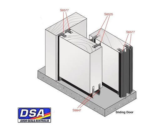 Making Folding And Sliding Doors Airtight With Door Seals Australia