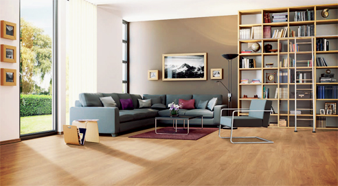 Laminate flooring from Embelton