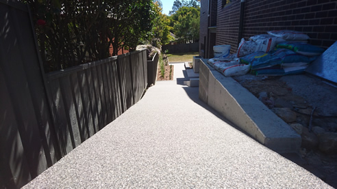 Permeable and Overlay Pathway