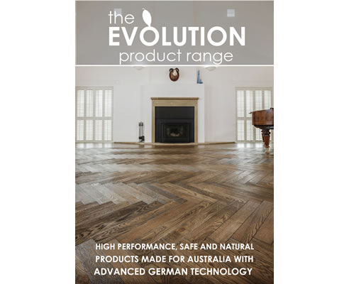 Evolution Timber Finishes Brochure Cover