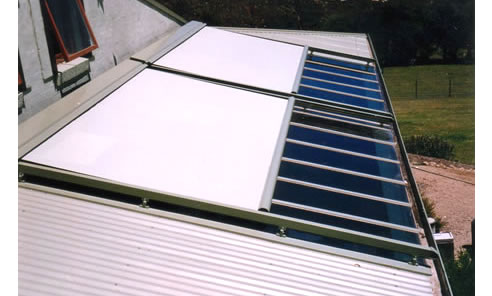Glass Roof Shading Solution Shadewell Awnings Amp Blinds