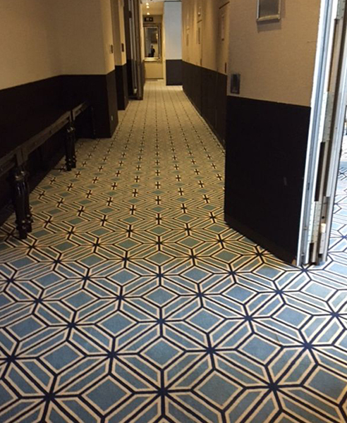 Durable Exchrome Bespoke Printed Carpets