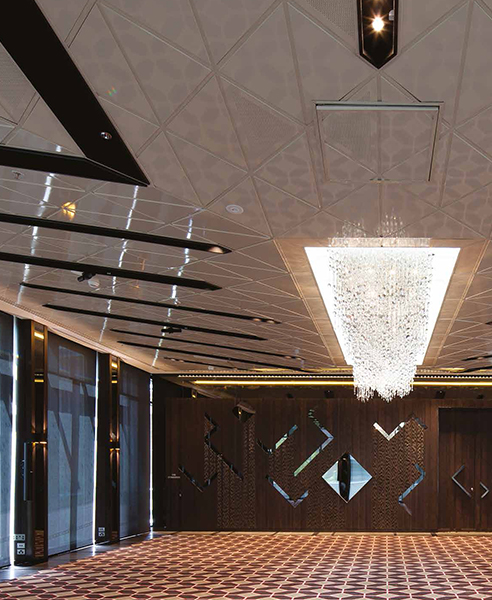 Atkar Perforated Timber Ceiling Tiles