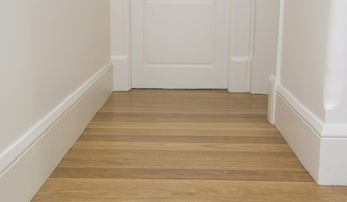 Skirting Blocks Used Between the Junction of Skirting Board and Architrave