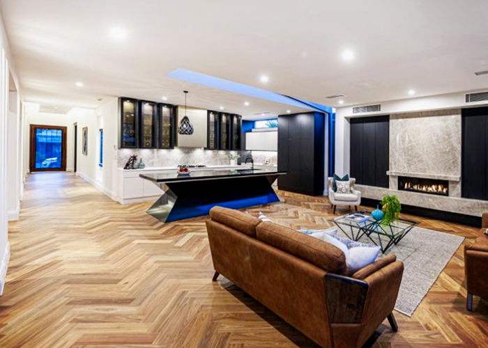 Grande Block Parquetry Flooring by Boral at Hazelwood & Hill