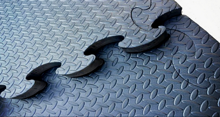 Interlocking Recycled Rubber Pavers from Sherwood Enterprises