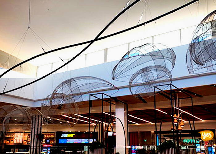 Sculptural Artwork Installation for Dapto Mall by Di Emme
