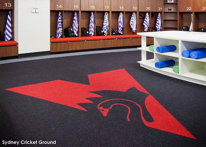 Commercial Carpets for Sports Facilities from The Nolan Group