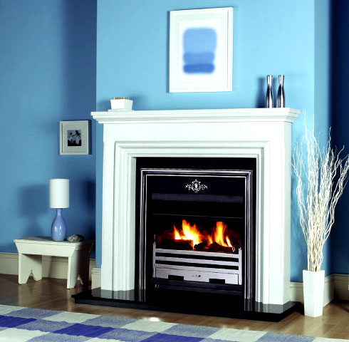 Agnew S Claremont Fireplace Setting Is A Contemporary